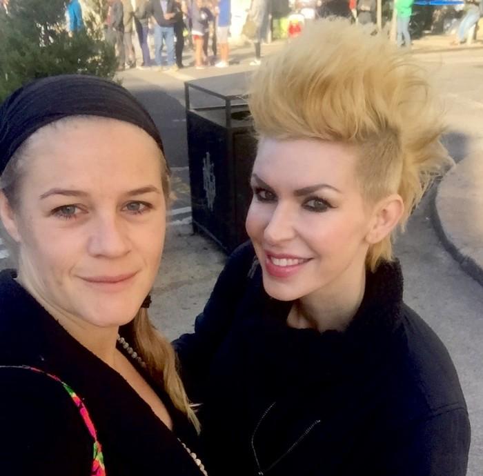 Jag och Sadie Nardini i New York 2016